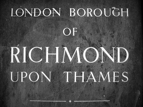 Richmond Borough sign