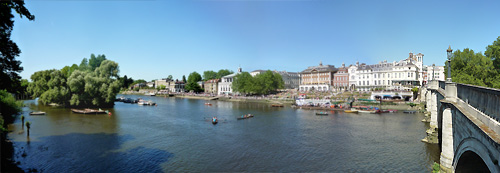 Richmond riverside panorama